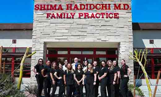 Welcome to Dr. Shima Hadidchi, MD, Primary Care Located in Victorville, CA